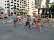 Start of the Indy Women's Half