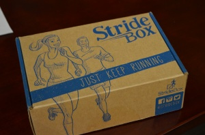 Stridebox — a monthly assortment of running goodies in your mailbox.